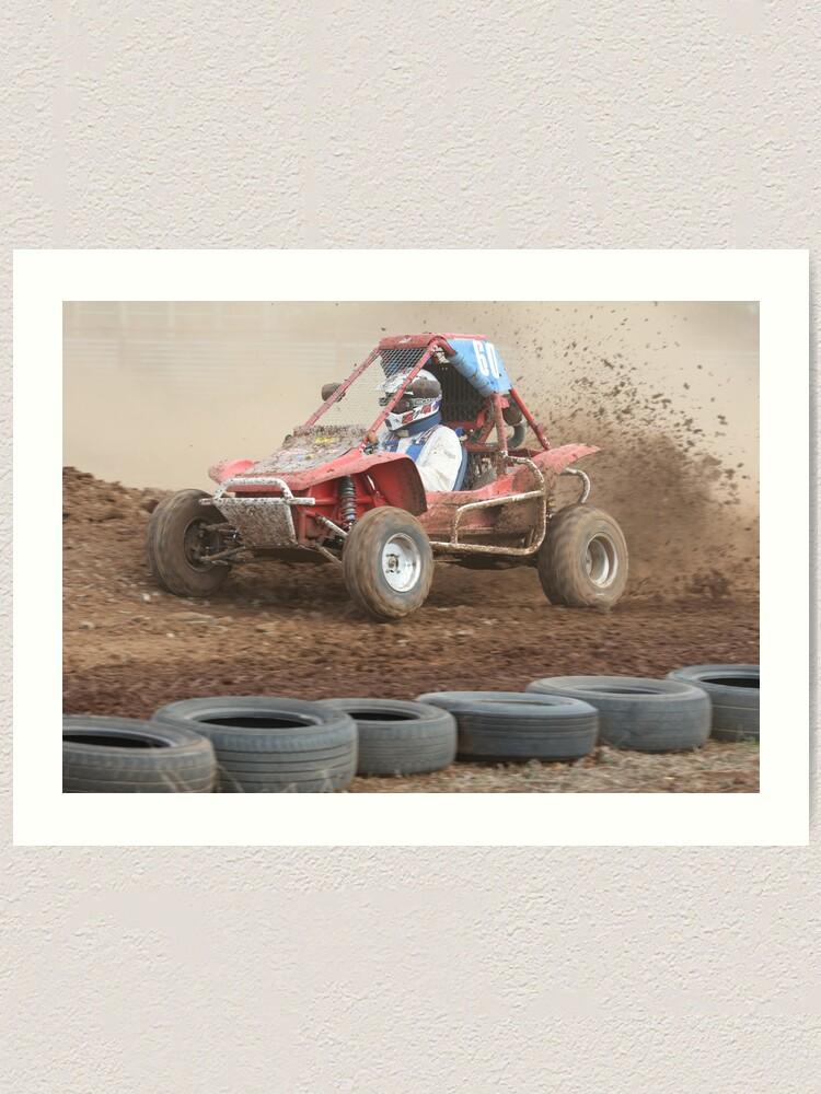 Alternate view of Full Throttle Art Print