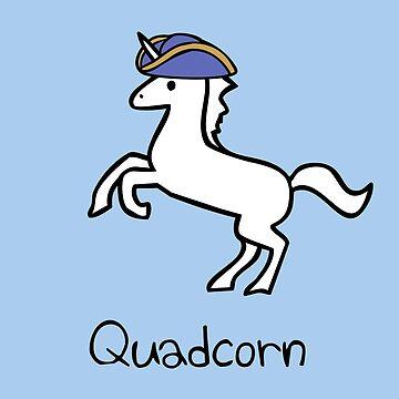 Quadcorn Unicorn by jezkemp
