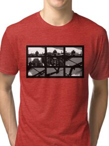 Crossing The Bridge into The Abstract Tri-blend T-Shirt