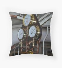 Gauges Throw Pillow