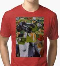 My Summer Holiday-For the Love of Horses Tri-blend T-Shirt