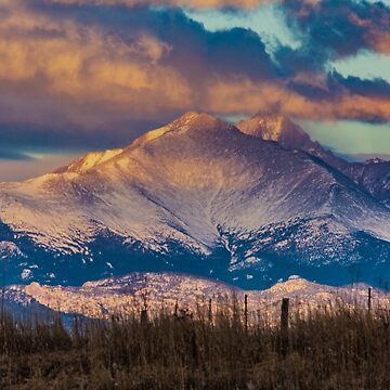 Mt Meeker and Longs Peak Sunrise by nikongreg