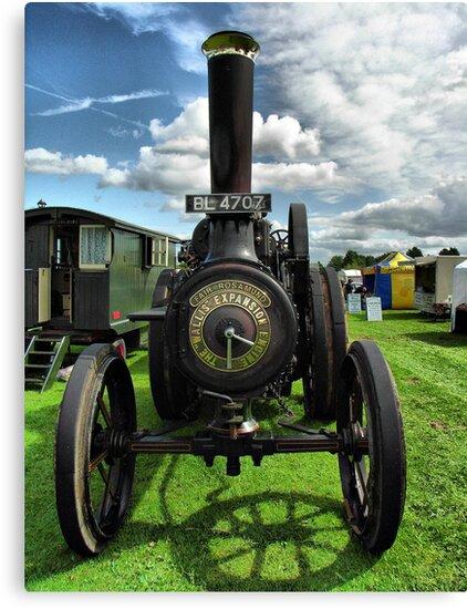 Wallis & Steevens Steam Traction Engine 'Fair Rosamund' by Clive Lewis-Hopkins.