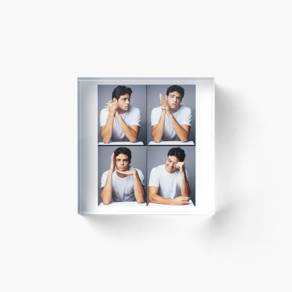 """Noah Centineo - Peter Kavinsky in """"To All The Boys I've Loved Before""""  Acrylic Block"""