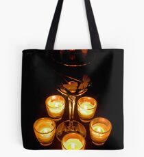 Candlight and Wine Tote Bag