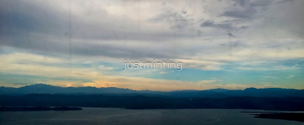 Flying Over Panama by justminting