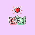 Peppermint Hug by Sam Buse by pizzakeicute