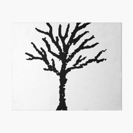 XXXTENTACION TREE Art Board Print