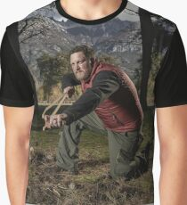 ALONE TELEVISION SERIES SURVIVAL REALITY Graphic T-Shirt