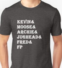 Riverdale Characters Tv Show Unisex T-Shirt