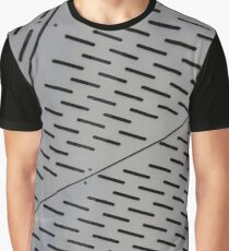 Metal shapes with line notches Graphic T-Shirt