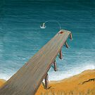 The Pier Swimmer by Julian Newman