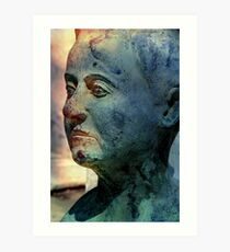 Face in a Dream Art Print