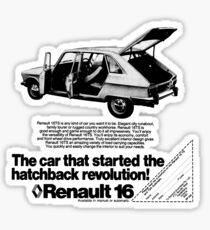 RENAULT 16 Sticker