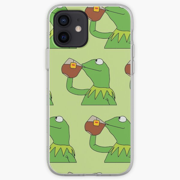 the tea has been served iPhone Soft Case