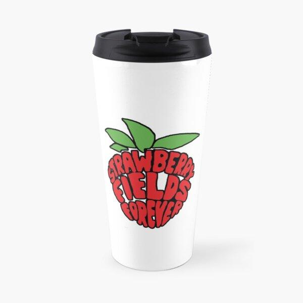 Strawberry Fields Forever  Travel Mug