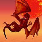 Fire Dragon by LoneAngel