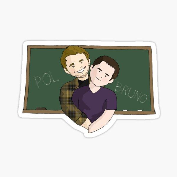 Pol y Bruno Sticker