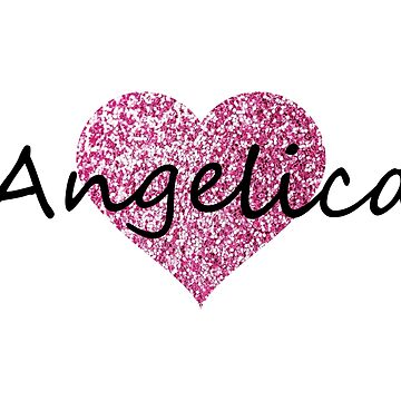 Angelica Pink Heart by Obercostyle