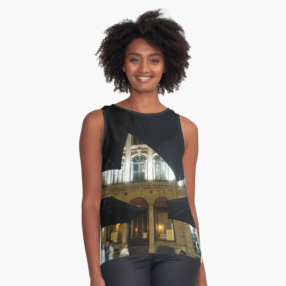 Montreal, #Montreal #City, #MontrealCity, #Canada, #buildings, #streets, #places, #views, #nature, #people, #tourists, #pedestrians, #architecture, #flowers, #monuments Sleeveless Top