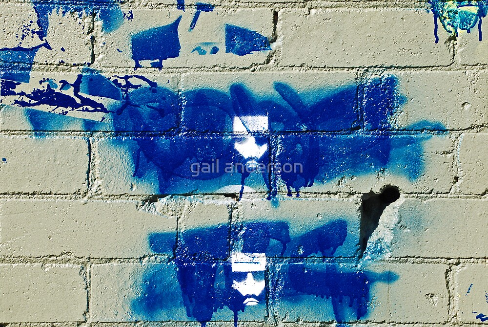 blue faces by gail anderson