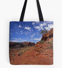 red centre Tote Bag