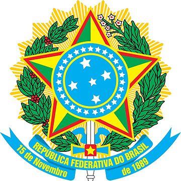Coat of arms of Brazil by PZAndrews