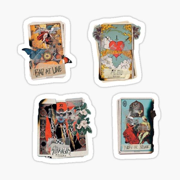 hopeless fountain kingdom cards sticker pack Sticker