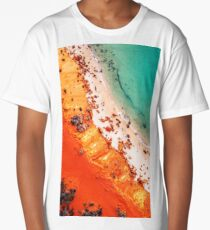 Coral On The Beach Long T-Shirt