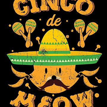 Cinco de Mayo Cat Cinco de Meow Kitten by TheLariat