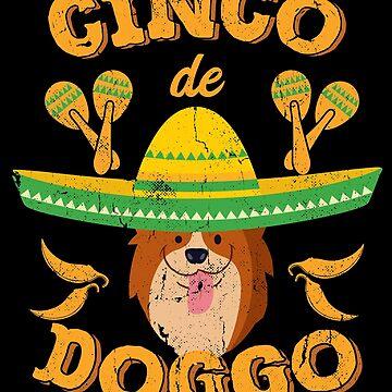 Cinco de Mayo Corgi Dog by TheLariat