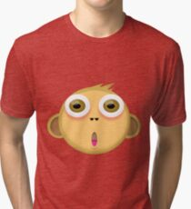 Monkey Face Tri-blend T-Shirt