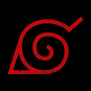 Naruto Hidden Leaf Symbol by huckblade