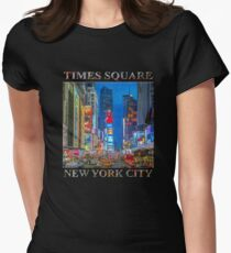 Times Square (Broadway) Women's Fitted T-Shirt