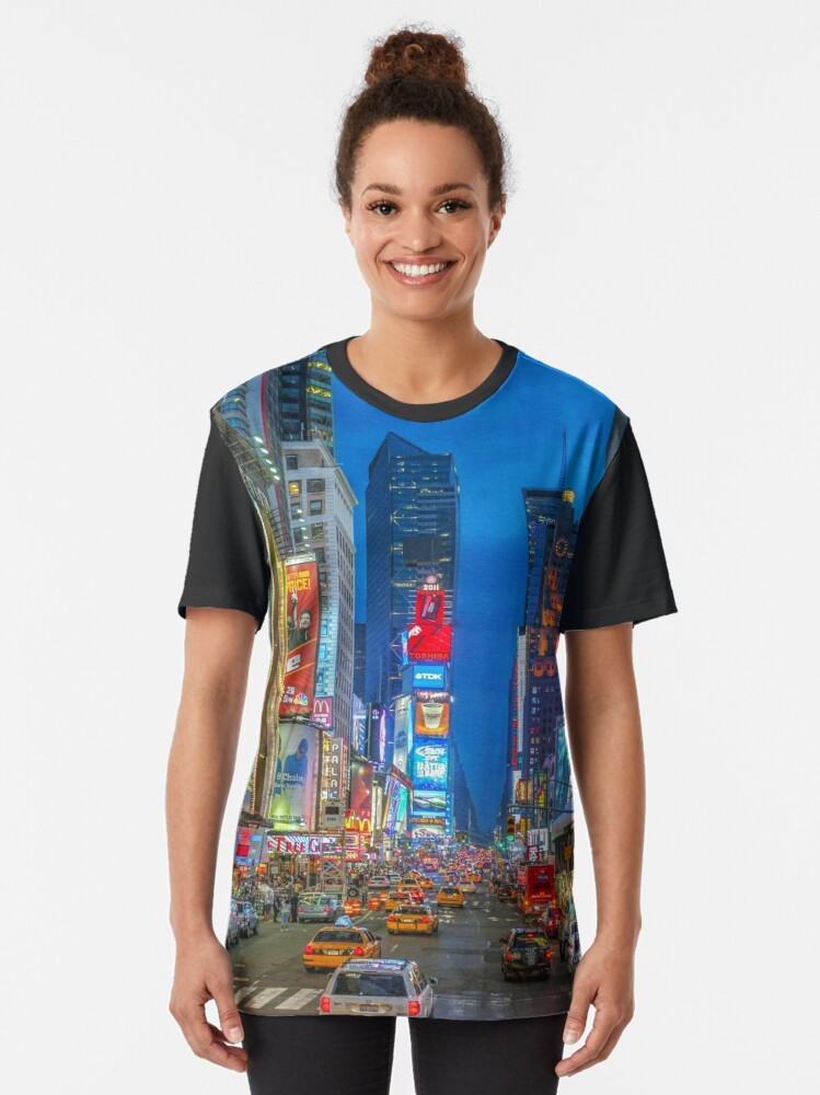 Alternate view of Times Square (Broadway) Graphic T-Shirt