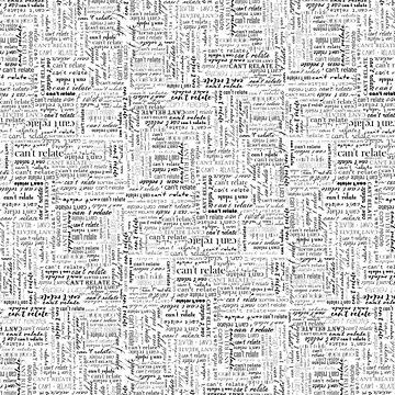 kann nicht auf Typografie drucken von Saburkitty
