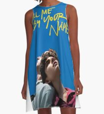 Call me by your name poster A-Line Dress