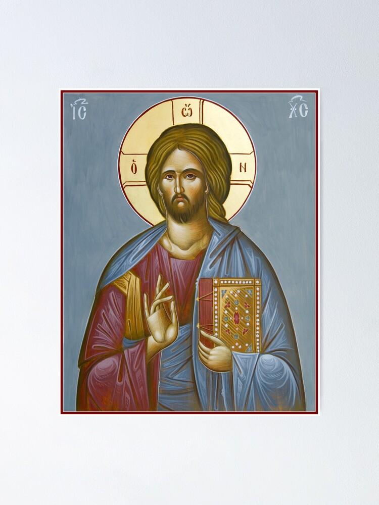 Alternate view of Christ Pantokrator Poster