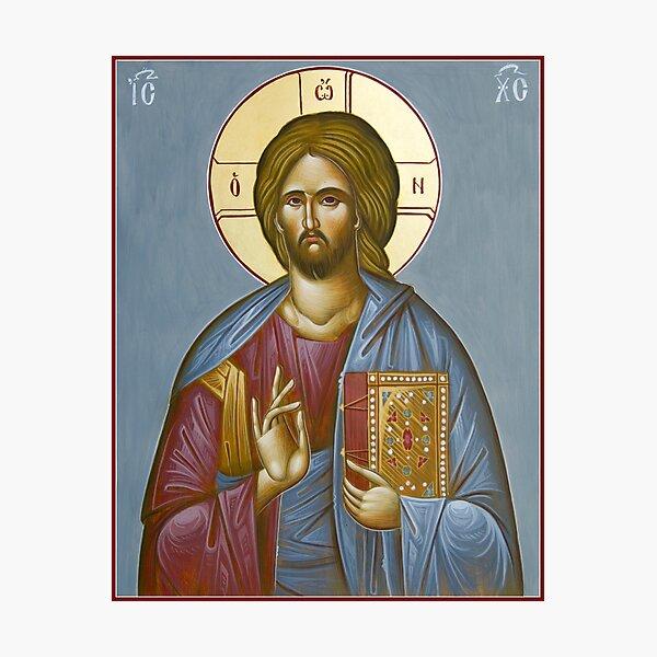 Christ Pantokrator Photographic Print