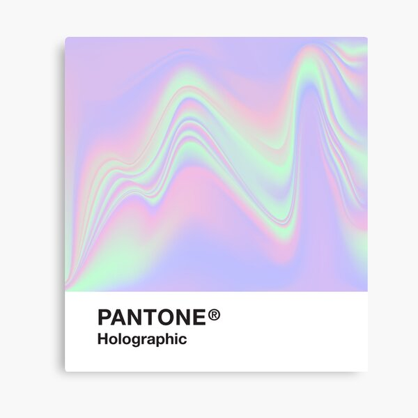 Pantone Holographic Series #9 Canvas Print
