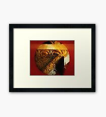 Partial Eclipse Framed Print