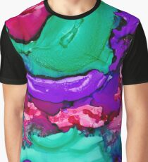 Psychedelic Grape Graphic T-Shirt