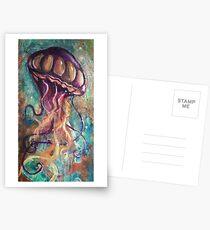 Pb n jellyfish Postcards