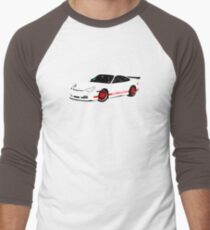 Rennsport H20 – 996 GT3 RS Inspired Men's Baseball ¾ T-Shirt