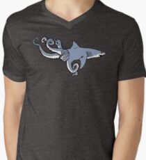 Sharktopus Men's V-Neck T-Shirt