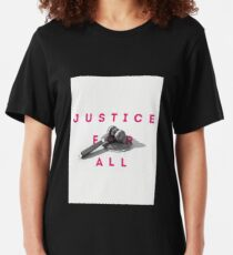 Justice For All Slim Fit T-Shirt