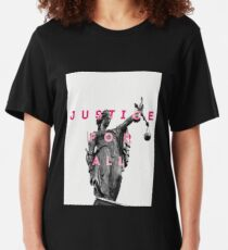 Justice For All Libra Slim Fit T-Shirt