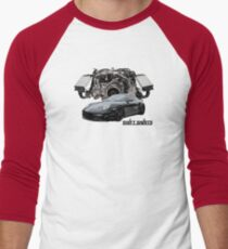 Race Inspired - 997 Turbo Inspired Men's Baseball ¾ T-Shirt