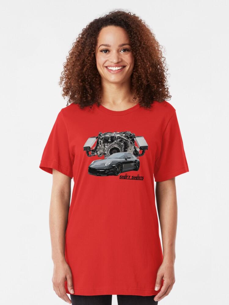 Alternate view of Race Inspired - 997 Turbo Inspired Slim Fit T-Shirt