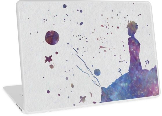 """The Little Prince"""" Laptop Skins By Jessica Cushen 